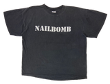 90' NAILBOMB Made in USA Vintage T-Shirt / 2086