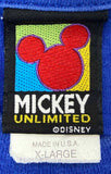 90's Vintage Mickey Mouse Made in USA Disney T-Shirt / 2087