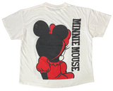 80's Vintage Minnie Mouse Made in USA Disney T-Shirt / 2093