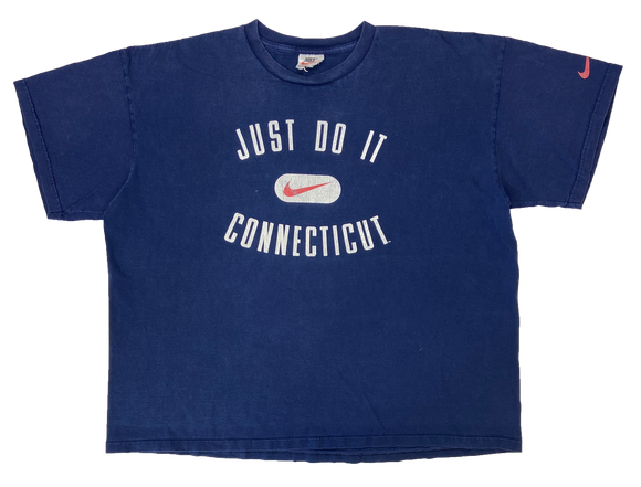 90's Vintage Nike Connecticut T-Shirt / 2115