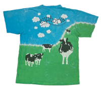 Liquid Blue Ben&Jerry's  All over print Vintage T-Shirts / 217