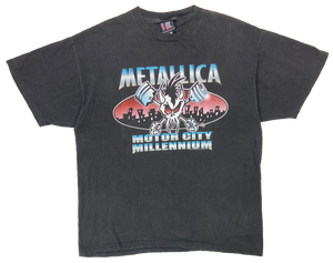90's Metallica Vintage Rock T-Shirt / 2212