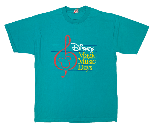 90's Vintage Disney Magic Music Days Made in USA T-Shirt / 2289