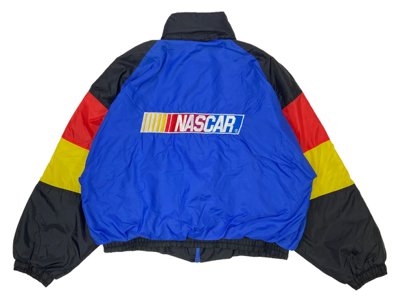 Vintage NASCAR Padded Nylon Racing Jacket / 2426