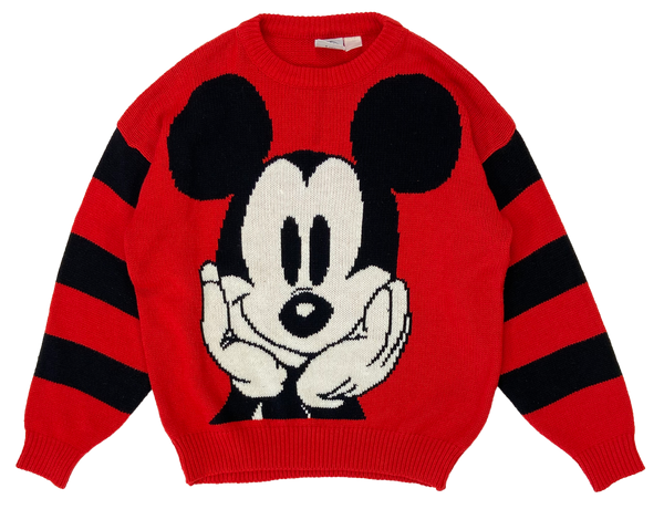 Vintage Mickey Mouse Disney Knit Sweater / 2432