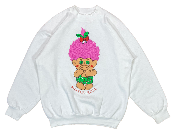 80's Vintage Troll Made in USA Sweat-Shirts / 2610