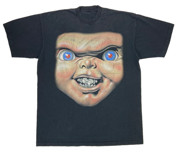 Vintage Child's Play Chucky Parody T-Shirt / 2826