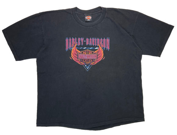 90's Harley Davidson Made in USA Vintage T-Shirts / 2840