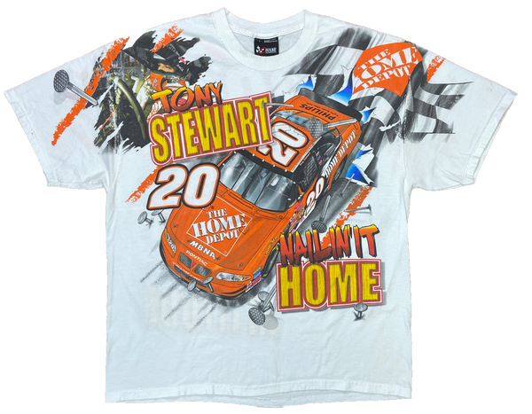 2002' HASE Home Depot NASCAR Racing All Over Print T-Shirt / 2903