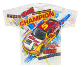 1996' HASE Terry Labonte Kellogg's NASCAR Made in USA Racing T-Shirt / 2948
