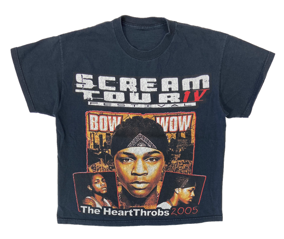 2005 Scream Tour IV Vintage Ladies Short Length T-Shirt / 3080