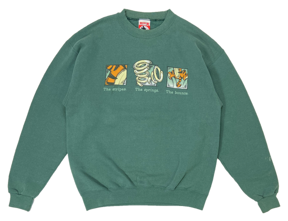 90's The Tigger Winnie the Pooh Made in USA Disney Sweat-Shirt / 3108