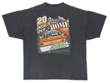 2001' HASE Tony Stewart Home Depot Vintage Racing T-Shirt / 3131