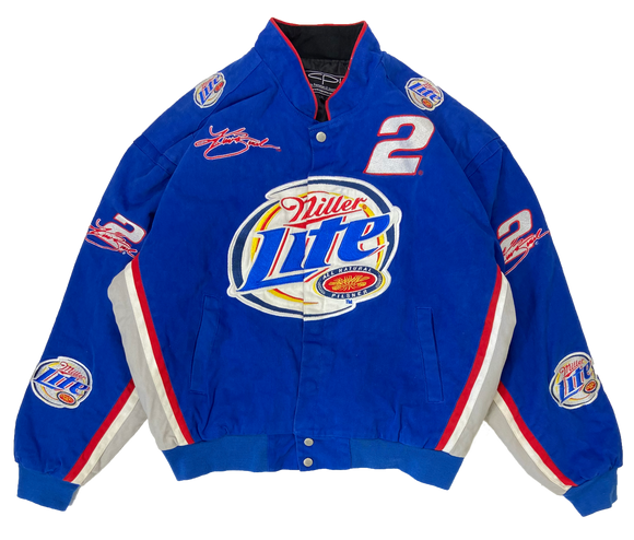 Vintage Miller Lite Padded Racing Jacket / 3139