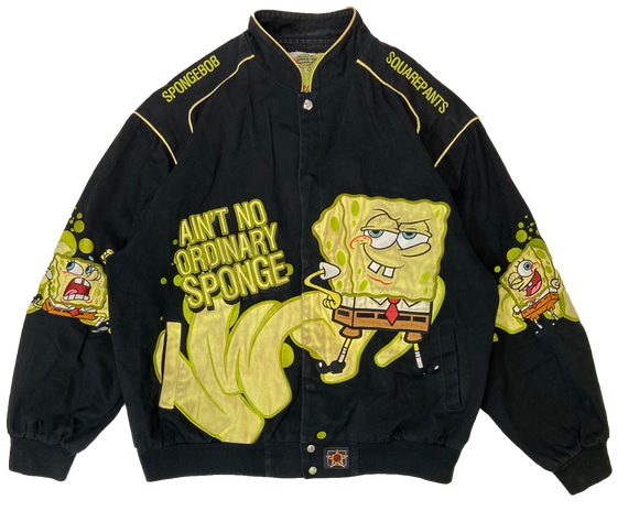 Vintage Sponge Bob Squarepants Racing Jacket / 3140