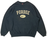 90's Nike x Purdue Vintage Sweat-Shirt / 3174