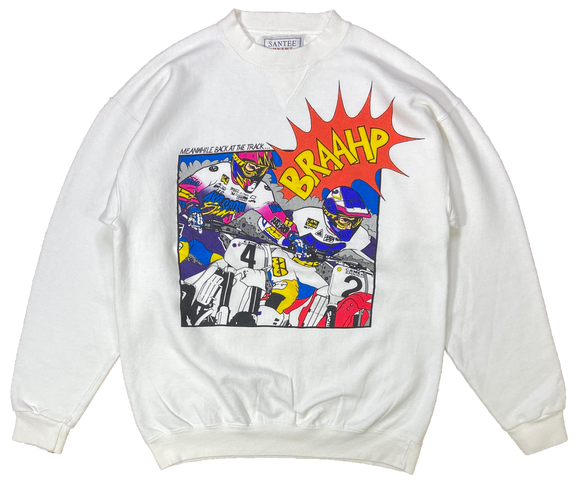 90's Vintage Camel Supercross Made in USA Motocross Racing Sweat-Shirts / 3209