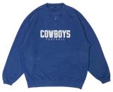 90's Nike x Dallas Cowboys NFL Vintage Sweat-Shirt / 3326