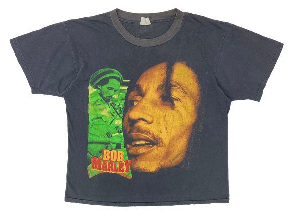 90's Bob Marley No Woman No Cry Vintage Ragge T-Shirt / 3433