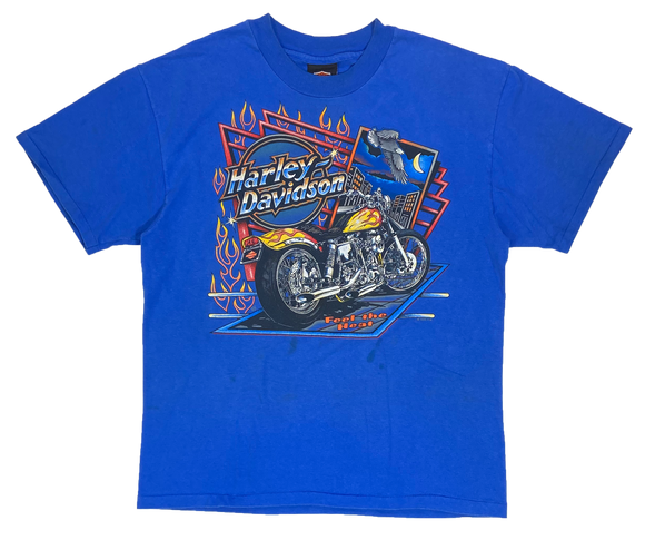 90's Harley Davidson Made in USA Vintage T-Shirts / 3501