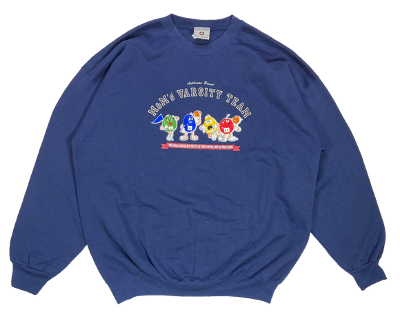 90's m&m's Made in USA Racing Sweat-Shirts / 3613