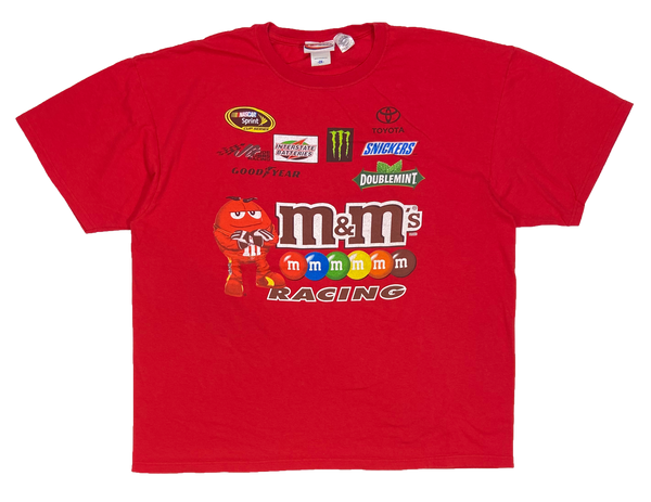 Vintage Kyle Busch HASE m&m's Racing T-Shirt / 3617