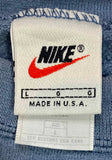 90's Nike Mini Logo Made in USA Vintage Damage Sweat-Shirt / 3830