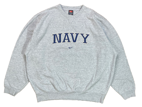 90's Nike x Navy Vintage Sweat-Shirt / 3879