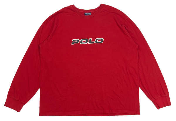 Vintage Polo Sport Ralph Lauren Long Sleeve T-Shirt / 3920