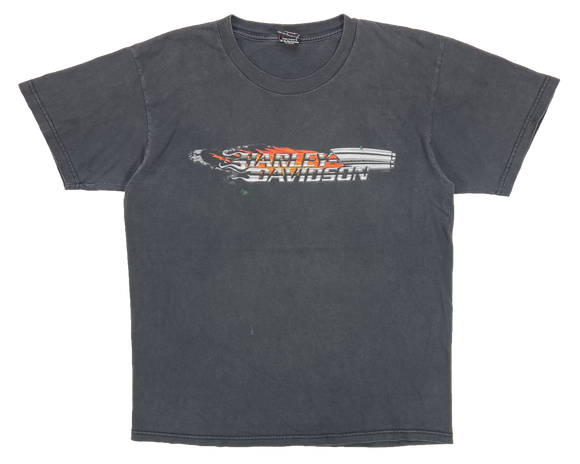 2002' Harley Davidson Made in USA Vintage T-Shirts / 3928