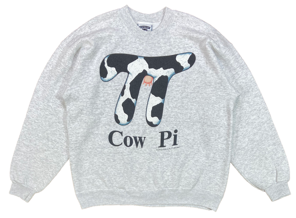 90's Cow Pi Made in USA Vintage Sweat-Shirts / 3936