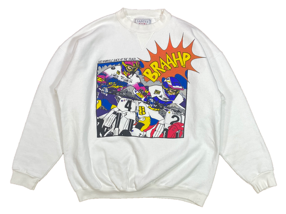 90's Camel Supercross Made in USA Motocross Vintage Racing Sweat-Shirts / 3969
