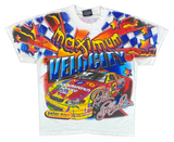 2000' Peter Max x Dale Earnhardt HASE NASCAR Vintage Racing T-Shirt / 3996