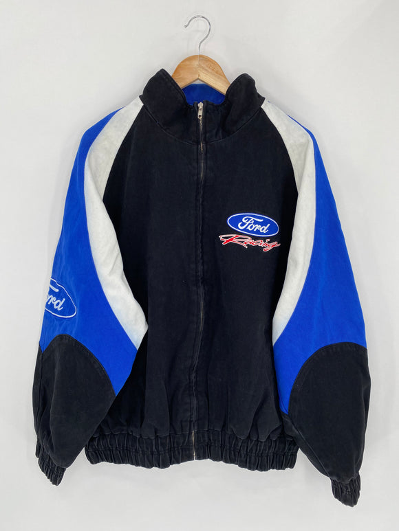 Vintage Ford Size XL Racing Jacket / 5470