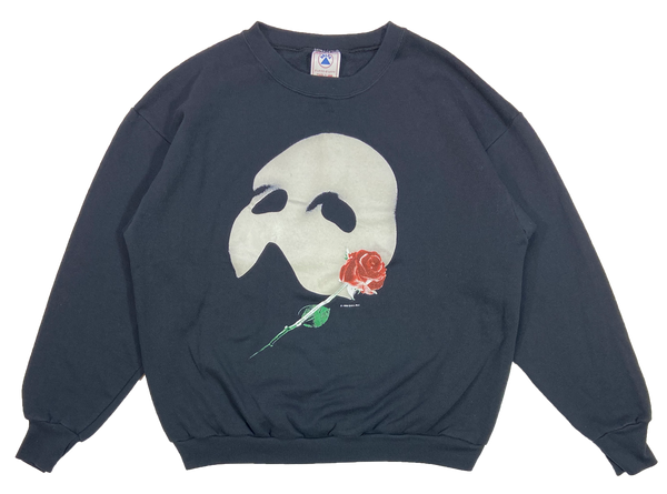 1986' The Phantom of the Opera Made in USA Vintage Slim Fit Sweat-Shirt / 4046