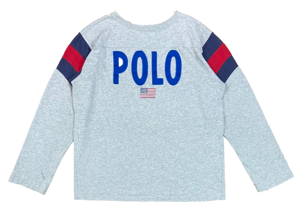 90's Polo Sport Ralph Lauren Vintage Long Sleeve T-Shirt / 4083