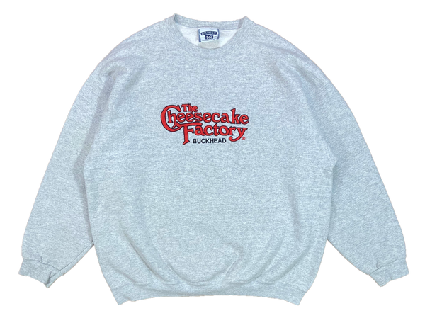 90's The Cheesecake Factory Vintage Sweat-Shirt / 4106