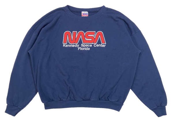 90's Kennedy Space Center Florida Made in USA Vintage Sweat-Shirts / 4170