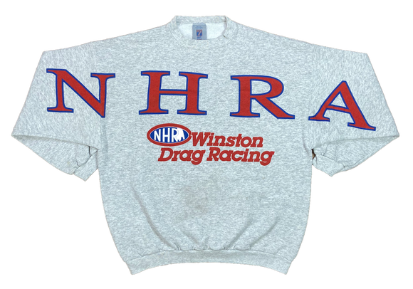 90's NHRA Winston Drag Racing Made in USA Vintage Sweat-Shirts / 4204