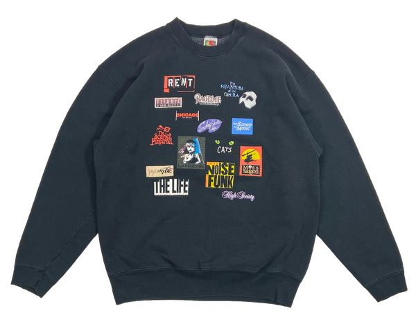 90's Broadway Musicals Vintage Sweat-Shirt / 4250