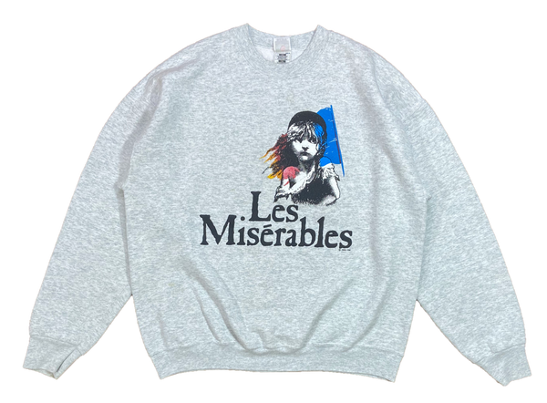1986' Les Miserables Vintage Sweat-Shirt / 4254