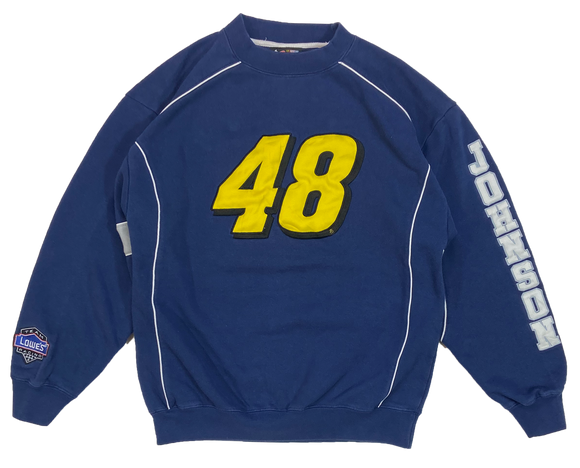 Vintage HASE Jimmie Johnson Racing Sweat-Shirts / 4295