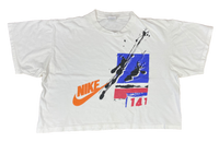 90's Nike Silver Tag Vintage Short Length T-Shirts / 433