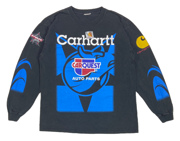 Vintage Carhartt Bullfighters Long Sleeve T-Shirt / 4374