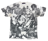 Legend Sports Players All Over Print Vintage T-Shirts  / 497