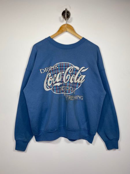 90's Coca Cola Vintage Made in USA Sweat-Shirts / 4653