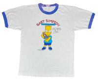 1989 Simpsons Bart Vintage T-Shirts  / 511