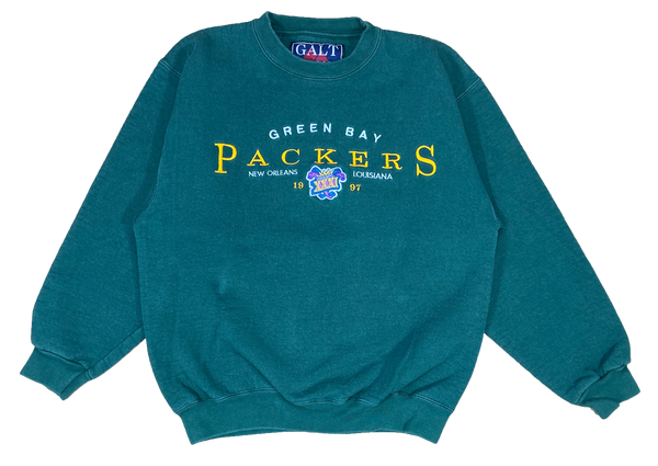 1997 Green Bay Packers NHL Super Bowl Vintage Sweat-Shirts  / 602