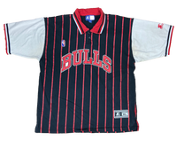 Chicago Bulls Vintage STARTER Polo-Shirts  / 610