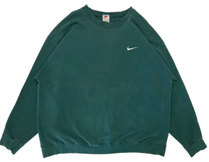 90's Nike Mini Swoosh Made in USA Vintage Sweat-Shirt / 628